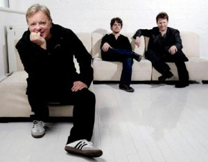 Bernard Sumner and members of Bad Lieutenant