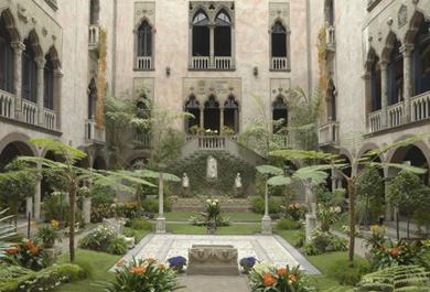 Art Nasturtiums At Isabella Stewart Gardner Museum