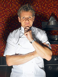 how did gordon ramsay learn how to cook