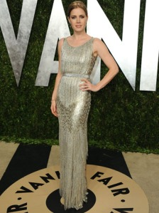Amy Adams at Vanity Fair party