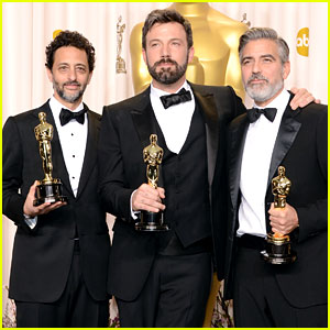Heslov, Affleck and Clooney