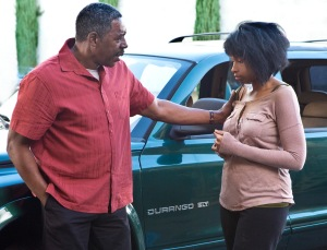 Maggie_ERnie Hudson and Jennifer Hudson