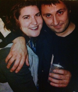 Jon Brookes and me 90s
