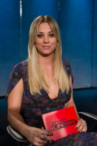 guest judge Kaley Cuoco