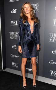 gisele at WSJ Innovator awards