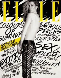 Elle Indonesia Gisele Bundchen
