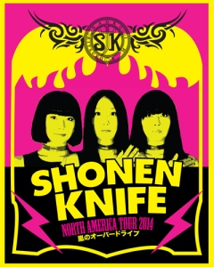 shonen_knife_north_american_tour_poster_2014