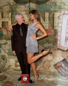 Gisele and director Baz Luhrmann