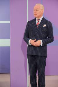Tim Gunn provides critiques