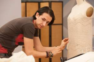 eye candy: Dmitry in the workroom